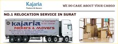 Why only Kajaria #Packers and #Movers in #Surat?