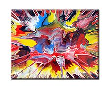 Abstract Spin Painting Mark Chadwick