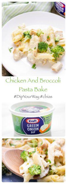 green-onion-dip-kraft-pasta-bake #DipYourWay #cbias #ad