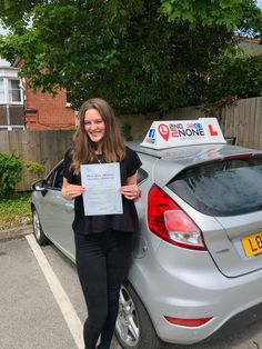 """A massive congratulations to Megan Koster from Gillingham on a FIRST TIME pass in Salisbury 17/05/21. Megan said """"I had Glenn as my instructor and I honestly couldn't of asked for anyone better! I felt very confident as a learner driver with him as my instructor. He knows how to have a laugh but also be serious at the same time. Couldn't of passed my test without him!"""" Well done Megan from your Driving Instructor Glenn Hollands and all the team here at 2nd2None Driving School Driving School, Driving Test, Driving Courses, Driving Instructor, Gillingham, Salisbury, Have A Laugh, Confident, First Time"""