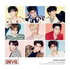 """After releasing black and white teaser images as well as a hilarious teaser video for their special 10th anniversary album """"Devil,"""" Super Junior has unveiled new colorful teaser photos. The group is planning on revealing their new song through their solo concerts on July 11 and July 12 a..."""