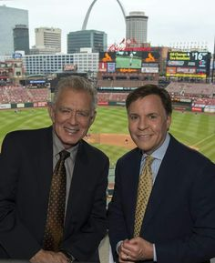 Tim McCarver and Bob Costas on the MLB Network from St. Louis, MO