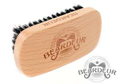Natural Boar's Hair Military Style Beard Brush - This manly beard brush is an essential item in any man's beard maintenance kit. We all know that great beards come with great responsibility. This brush will keep the beard looking great and tame. The wooden body is the perfect size and has a nice finish. The bristles are stiff enough to penetrate his beard but not too stiff on his skin. Top Holiday Gift For Him. Get it on Amazon! Click the Link. http://superurl9.com/195616b701a205c