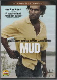 Mud (DVD, 2013, Includes Digital Copy UltraViolet) Widescreen, rated PG-13