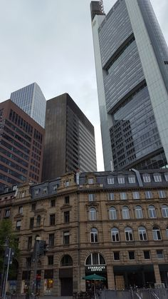 Frankfurt, Skyscraper, Multi Story Building, Skyscrapers
