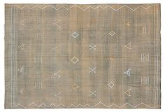 "5'11""x9'3"" Raheem Flat-Weave Rug, Bronze on OneKingsLane.com"