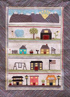 Around the Neighborhood Quilt Pattern