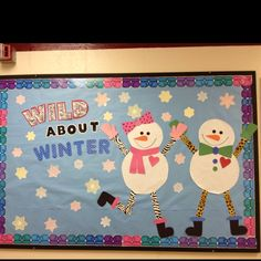 winter bulletin board ideas | Adorable Winter Bulletin board! | Lesson Plan Ideas