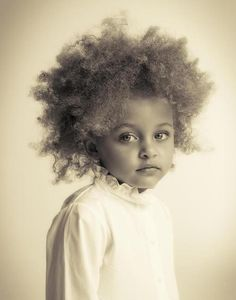 love the natural and wild hair