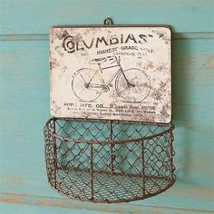 """""""Columbia's"""" Wire Basket"""