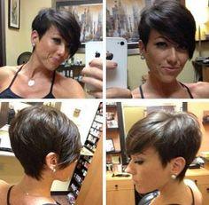 20 Brown Hair Pixie Cut | Pixie