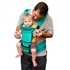 ca10a6ac610 BabySteps Ergonomic Baby Carrier with Hip Seat for All Seasons