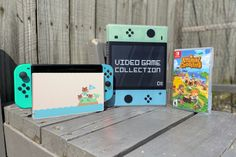 New product alert! We are welcoming a brand new Animal Crossing New Horizons themed Switch case to the UniKeep Nintendo Switch Case family. Pick one up to match your Animal Crossing Switch console! Video Game Organization, Video Game Storage, Nintendo Switch Case, Video Game Collection, New Animal Crossing, Pick One, New Product, Wii, Playstation