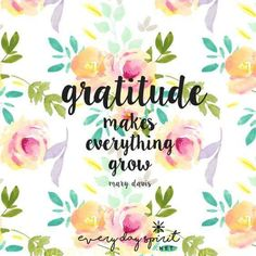 You will know when you have really found true gratitude, because you will become a giver. One who is truly grateful cannot be anything else. Are you truly grateful? http://apple.co/1Ocxc3w