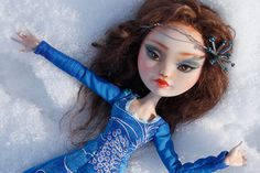 Reserved for Lia Deneau - OOAK Ever After high Repainted Art Doll - Tatyana