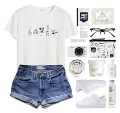"""""""Chasing after you is like a fairytale"""" by kexinzhng ❤ liked on Polyvore featuring Chicnova Fashion, Abercrombie & Fitch, ZeroUV, Davines, Nikon, Monki, AmorePacific, Fresh and BIA Cordon Bleu"""