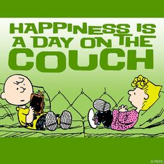 Saturday goals = staying on the couch all day.