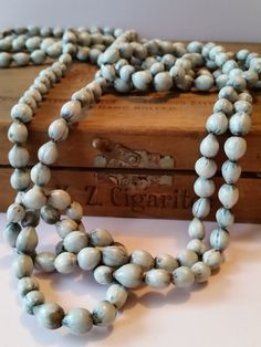 """77"""" Job's Tears Love Beads 