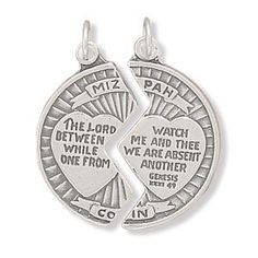 $24.95 Charm measures 25mm in diameter .925 Sterling Silver