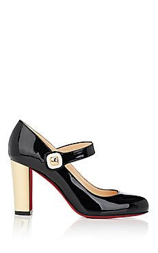 78a97683933 We Adore  The Bibaba Patent Leather Mary Jane Pumps from Christian Louboutin  at Barneys New York