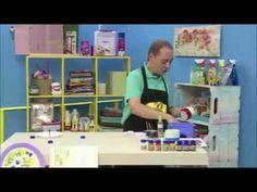 ATELIÊ NA TV - CANECA NOEL  (pintura em porcelana, queima em forno caseiro)