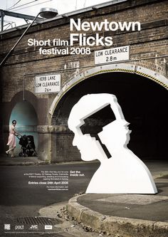 Newtown Flicks Film Festival Poster: Christopher Doyle