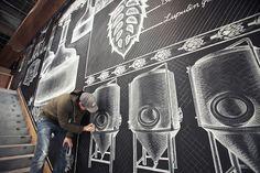 Chalk Mural by Ben Johnston – Fubiz™