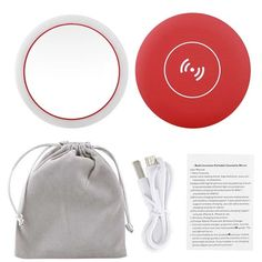 (Save - Today Only) Wireless Charger. - (Save – Today Only) Wireless Charger Makeup Mirror - Halo Led Lights, Led Makeup Mirror, Led Mirror, Glossier Lipstick, Perfect Selfie, How To Apply Makeup, Applying Makeup, Mirror With Lights, Makeup Routine