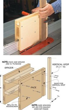 Must-Have Table Saw Accessories: These simple shop-made jigs and accessories make work at the table saw safe, easy, and accurate. bench Techniques Techniques easy Techniques tips Techniques tools Techniques tutorials Woodworking Outdoor Furniture, Woodworking Jig Plans, Woodworking Jigsaw, Woodworking Store, Learn Woodworking, Woodworking Techniques, Easy Woodworking Projects, Woodworking Supplies, Table Saw Sled