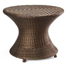 Balencia Bronze Round Side Table....got two. Love outdoor furntiture like this....it's DURABLE!!!!