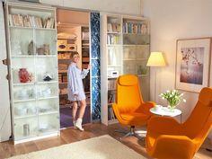 Begehbarer Kleiderschrank für Menschen mit vieeel Platz und vierten Klamotten! :) #IKEAhack (Ikea Billy + Pax)