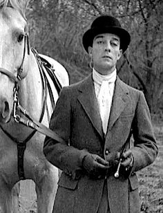 Buster Keaton - one of my all-time favorites; he can make me laugh harder with one deadpan look than any verbal jokester