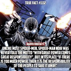 This would explain why this Spidey operates the way he does.