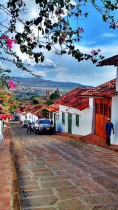 Barichara, Santander, Colombia This place is so pretty! Places Around The World, Oh The Places You'll Go, Travel Around The World, Places To Travel, Places To Visit, Around The Worlds, Travel Destinations, Colombia South America, South America Travel