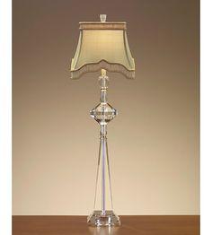 John Richard Crystal 1 Light Buffet Lamp JRL 7873 #lighting Hate The Price