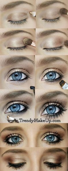 Prom+Makeup+for+Blue+Eyes | 20 Gorgeous Makeup Ideas for Blue Eyes