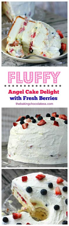 213 Best Angel Food Cakes Images In 2019 Dessert Recipes Pound