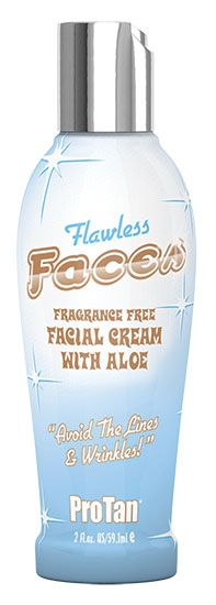Protan FLAWLESS FACES  - Now Only $16.56 SAVE 10% Pro Tan, Facial Cream, Flawless Face, Aloe Vera, Vodka Bottle, Lotion, Fragrance, Faces, Skin Care