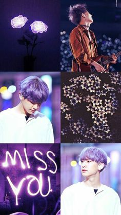 Roua miss you😭💔 Chanyeol Cute, Park Chanyeol Exo, Kyungsoo, Z Wallpaper, Colorful Wallpaper, Purple Aesthetic, Kpop Aesthetic, Aesthetic Backgrounds, Aesthetic Wallpapers