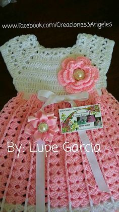Captivating Crochet a Bodycon Dress Top Ideas. Dazzling Crochet a Bodycon Dress Top Ideas. Beau Crochet, Crochet Baby Dress Pattern, Crochet Fabric, Baby Girl Crochet, Crochet Baby Clothes, Baby Knitting Patterns, Baby Blanket Crochet, Crochet Patterns, Crochet Dresses
