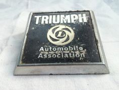 Image result for the automobile association with a triumph