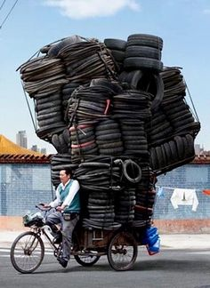 Chinese Tire Overload.