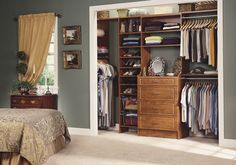 Pictures of Small Bedroom Closets | Closet Organization Interior Design Ideas - @Sherrie Bowe-Hernandez Scott Design Ideas