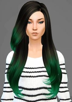 Sims 4 Updates: Artemis Sims - Hairstyles : B-Flysims 092 hair retexture, Custom Content Download!