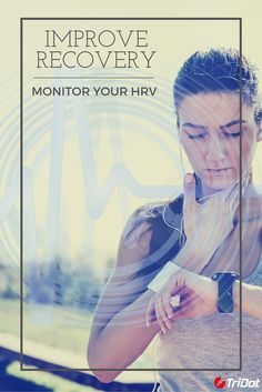 Recovery is a critical component of triathlon training.  Monitoring your heart rate is good, but monitoring your HRV is better for gauging recovery. Find out more about HRV and why it matters #TriDotTip #triathlon #swimbikerun #HRV #heartrate #recovery
