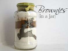 Brownies in a Jar Recipe & Living Sustainably | {Not Quite} Susie Homemaker