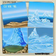 CU Vol 416 Winter papers #CUdigitals cudigitals.com cu commercial digital scrap #digiscrap scrapbook graphics