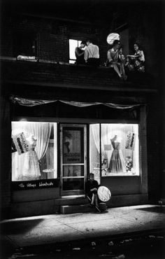 Imagen en la lente de W. Eugene Smith: Pittsburgh, Pennsylvania (1955).