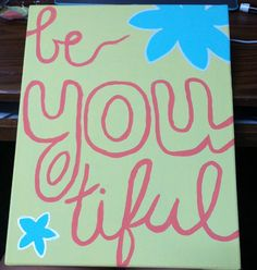Canvas painting! #beautiful #canvas #DIY