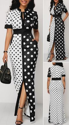 Short African Dresses, Latest African Fashion Dresses, African Print Fashion, Women's Fashion Dresses, Fashion Fashion, Cute Dress Outfits, Casual Dresses, Sexy Dresses, Pink Dresses